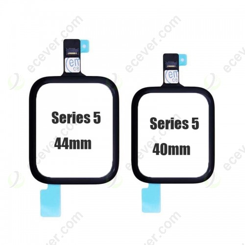 Original Front Touch Screen Panel Digitizer for Apple Watch Series 5 40mm and 44mm