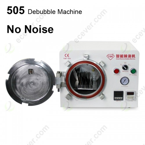 TBK 505 Smart Air Bubble Removing Machine for LCD Screen Debubble Machine No Noise