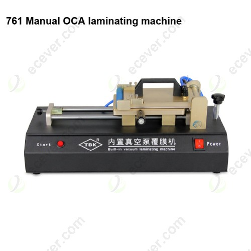 TBK 761 OCA Polarizer Film Laminating Machine with Vacuum Pump OCA Lamination for LCD Glass