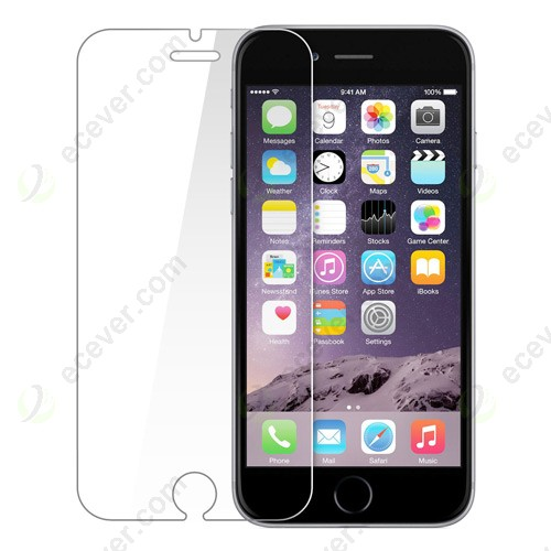 Wholesale good quality factory price Tempered Glass Screen Protector for iPhone 6/6S Plus from ecever. The 9H Harness with 0.2mm thickness tempered glass protector film can better protect your iPhone 6/6S Plus.