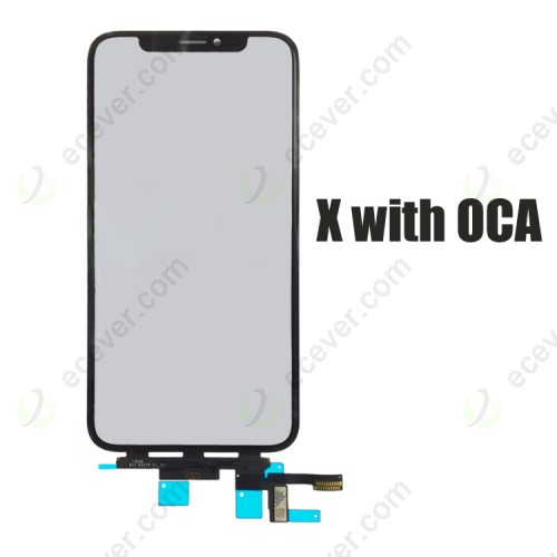 Original OEM iPhone X Digitizer Touch Screen with OCA