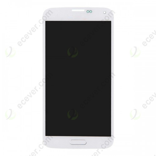 White for Samsung Galaxy S5 SM G900 G900F G900A G00P G900T LCD Screen Digitizer Touch with Home button