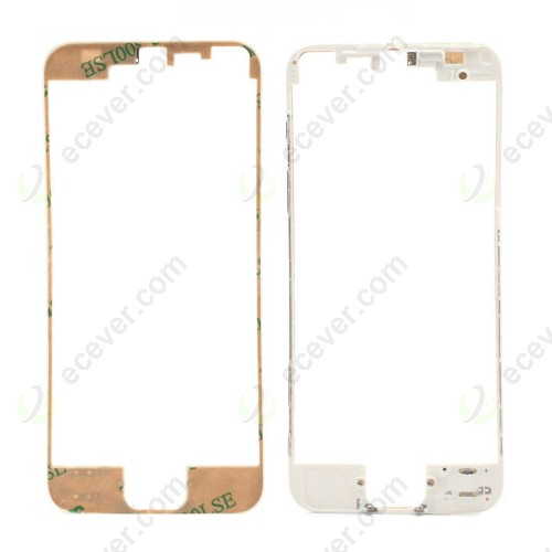 For iPhone 5 Front Frame with Adhesive Strip White