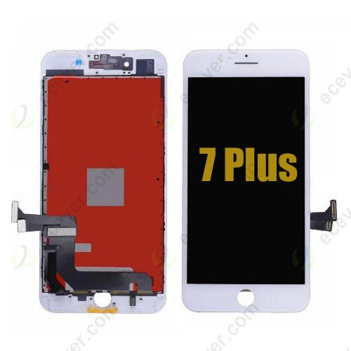 White LCD Screen Touch Digitizer Assembly for iPhone 7 Plus