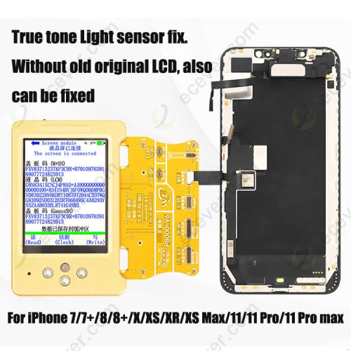 WL V11 Ambient Light Sensor True tone display repair fix Battery Vibrate Read Write Machine