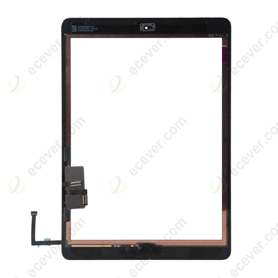 One Black TouchScreen Touchscreen Digitizer Mid Frame Bezel Part for iPad 2 new