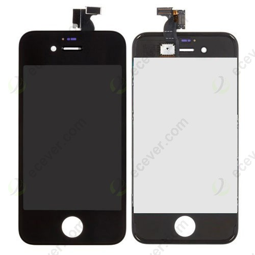 iphone 4 black screen lcd display touch screen digitizer assembly black for 14370