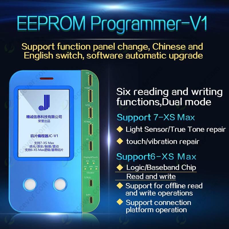Ambient Light Sensor >> Jc V1 Ambient Light Sensor Vibrator Data True Tone Read Write Machine Programmer For Iphone
