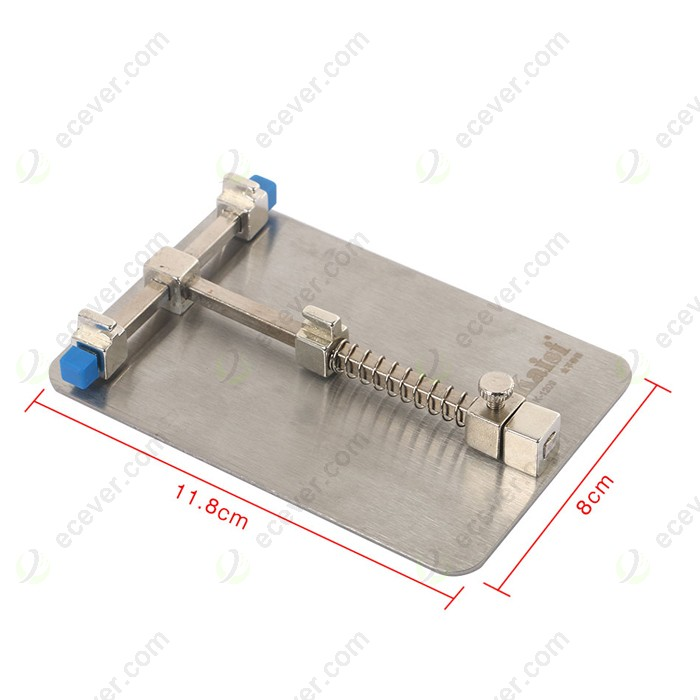 Yadianna Soldering Repair Holder Circuit Board Soldering Station Printed Circuit Board Plate Holder with Two Caliper Clamp Perfect for Diy Projects