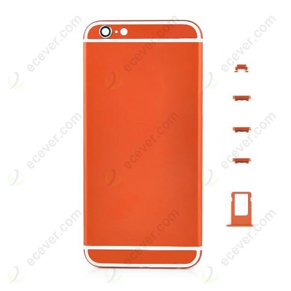 orange iPhone 6 Plus back housing