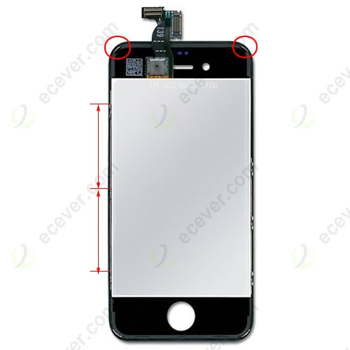 iphone 4 black screen verizon cdma iphone 4 lcd screen digitizer assembly 14370