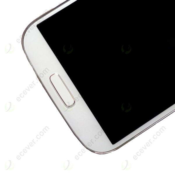 LCD Screen Assembly with Digitizer Touch Frame White For Samsung ...