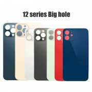 Big hole Back Glass for iphone 12 mini / 12 / 12 Pro and Max