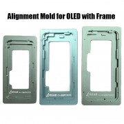 (OLED With Frame) Front Glass Touch Screen to OLED Alignment Position Mould Mold for iPhone 12 mini 12 Pro max