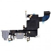 Charging Port Flex Cable for iPhone 6S Dark Gray