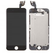 (Half Ori) Front LCD Screen Touch Panel Combo with Small Parts for iPhone 6 Black
