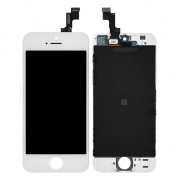 (Half Original) White For iPhone 5S LCD Display Assembly with Digitizer