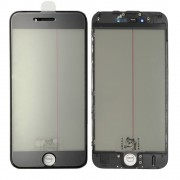 4 In 1 for iPhone 6S Glass with Original Polarizer OCA Frame Black