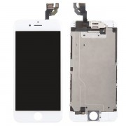 (Half Ori) LCD Screen Touch Digitizer Assembly with Small Parts for iPhone 6 White