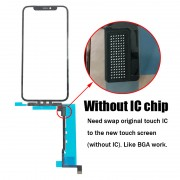 Without IC No IC Chip Touch Screen Digitizer TP for iPhone 11 11 Pro Max