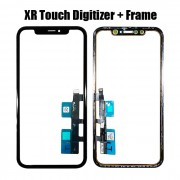 Touch Panel Screen Digitizer with Frame Bezel for iPhone XR