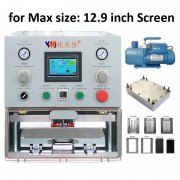 12.9 inch LCD OCA laminate machine for ipad tablet for Samung Edge Curved for iPhone LCD screen Refurbishing
