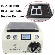 TBK 408A Transparent Cover OCA Laminate Bubble Remove Machine 15 inch