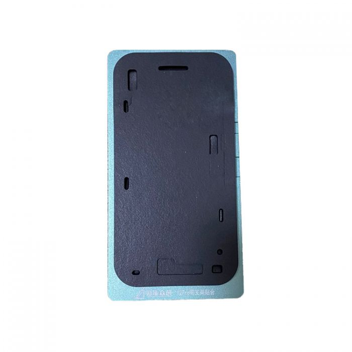 (With Frame) Black Magic Soft Lamination Mat for iPhone 12 mini 12 Pro Max OLED with Frame