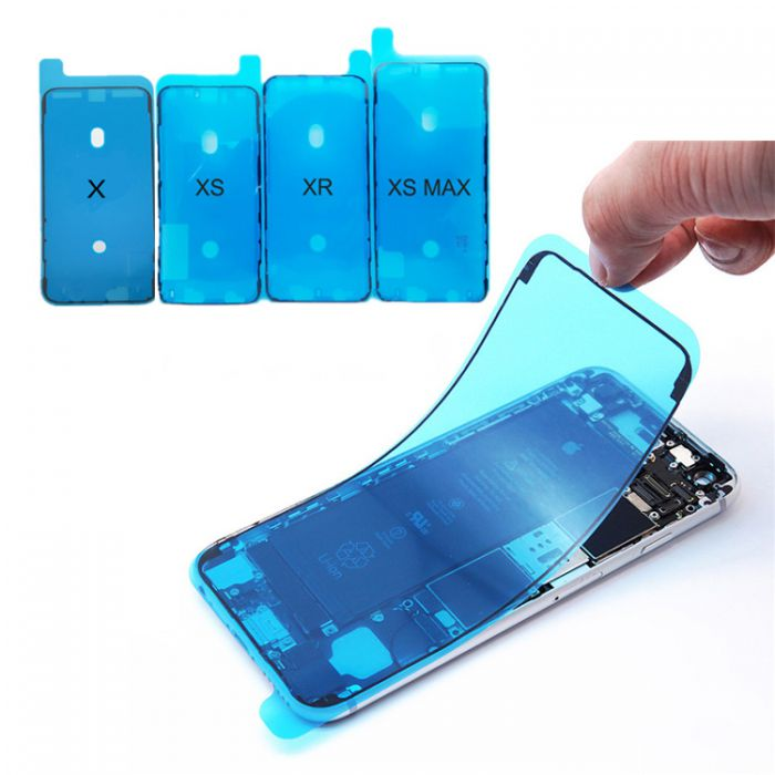 Waterproof Glue Tape Front screen Seal Stickers Housing Frame for iPhone X XR XS XSMAX