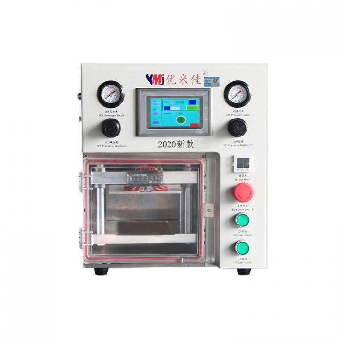 7 inch YMJ 2020 Double Dual Pressure Valve Laminate Machine for iphone for samsung LCD edge OLED Refurbish Repair