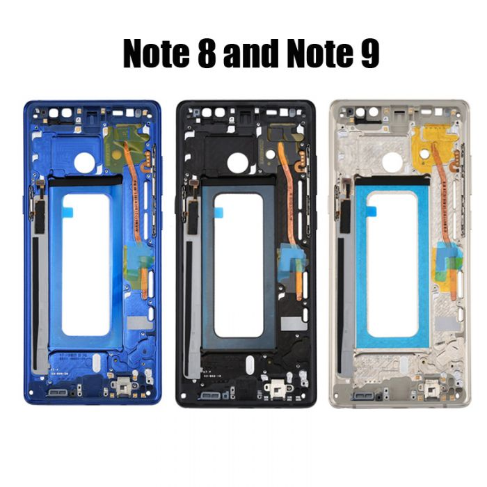 Front Frame Bezel for OLED Screen for Samsung Note 8 Note 9