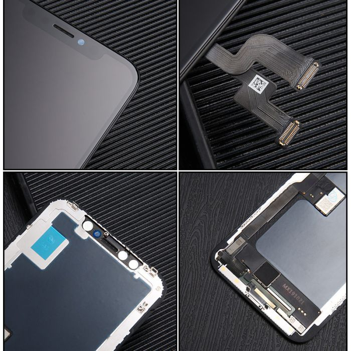 Soft Flexible OLED soft LCD Display for iPhone X Touch Digitizer Glass Screen Assembly