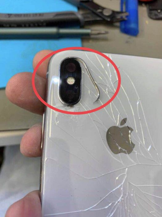 Metal Ring for iPhone X XS XR XS MAX Back Camera Lens