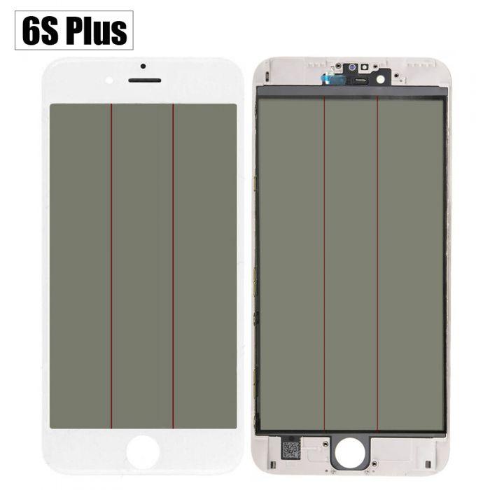 4 in 1 Glass with frame OCA Polarizer iPhone 6S+ Plus