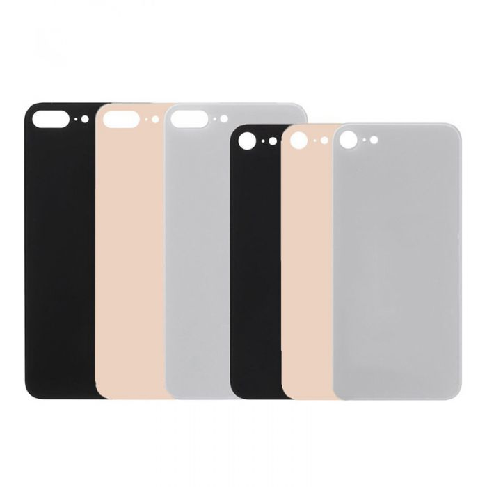 Big Hole Back Glass Replacement for iPhone 8 8 Plus 8+