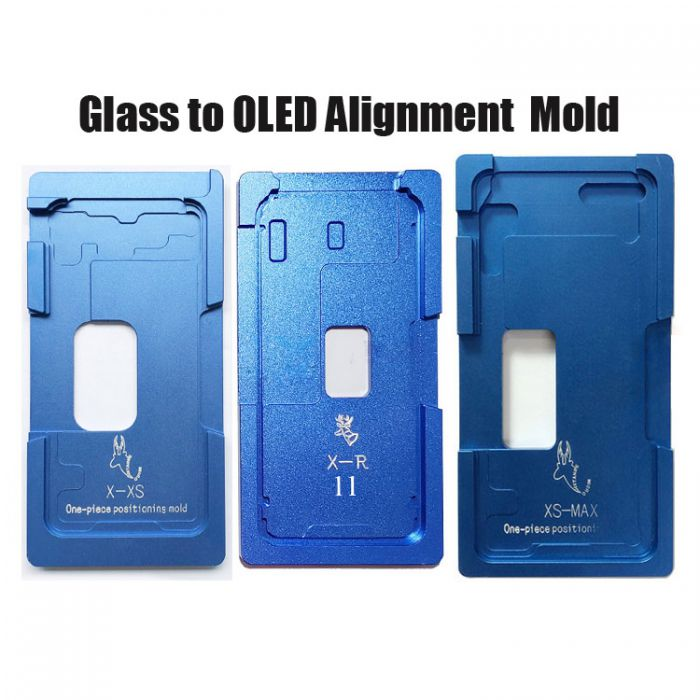 Front Glass OLED LCD Position mold mould For iPhone X XS XR XS MAX alignment mold location