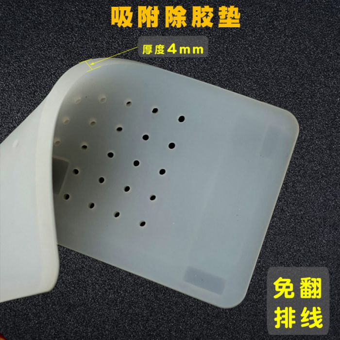 Hot Plate Separator Suction Rubber Mat Pad for iPhone X XS MAX XR LCD OLED OCA Glue Remove Clean