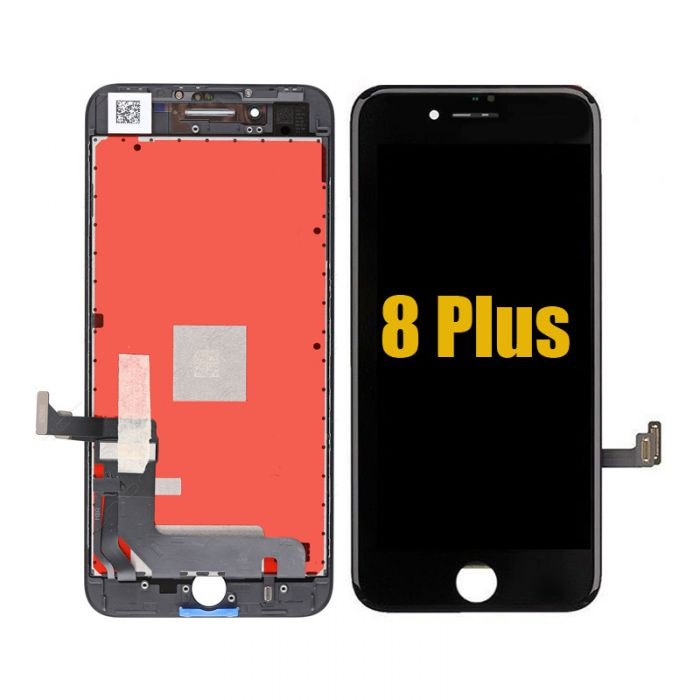 Original OEM iPhone 8 Plus front glass Digitizer with LCD Display Complete Black