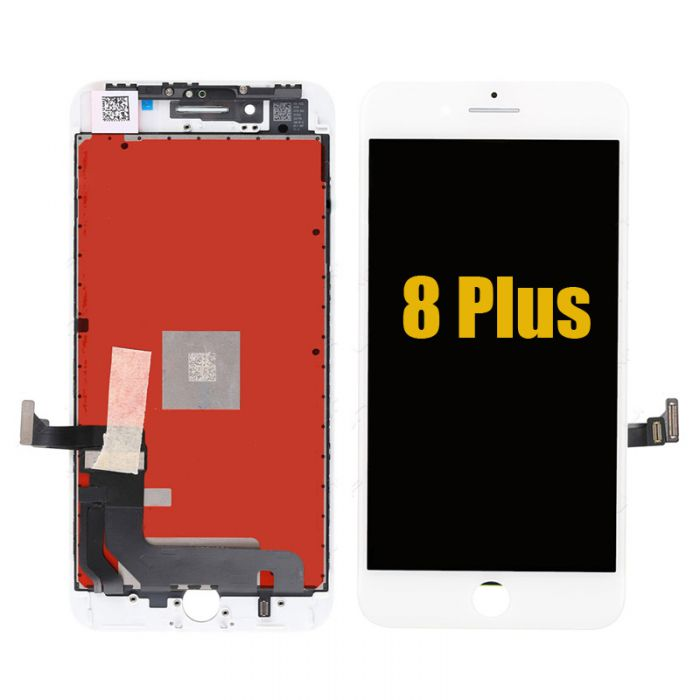 OEM iPhone 8 Plus LCD Display Digitizer Touch Screen Assembly White