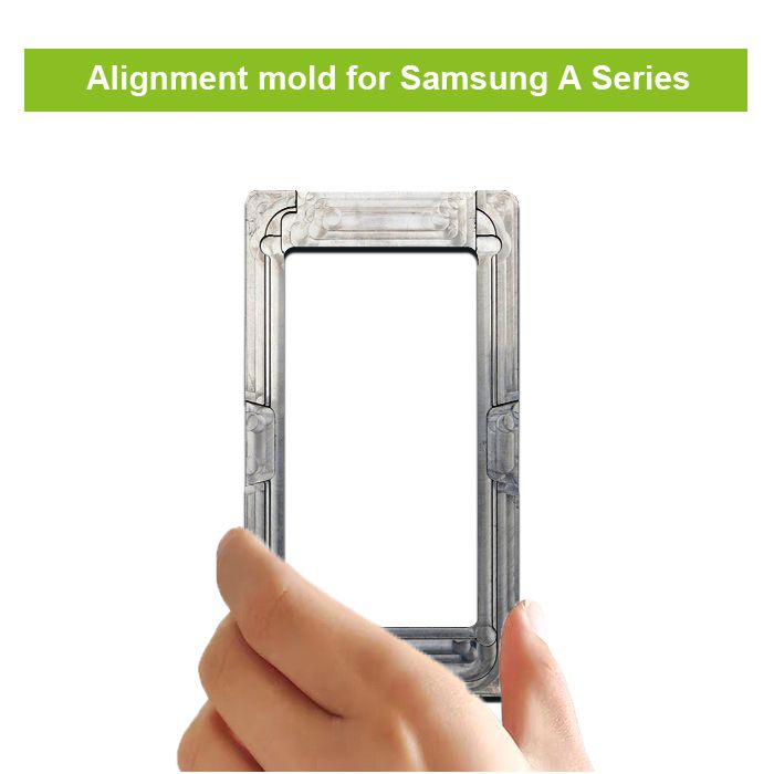 Glass to LCD OLED Alignment Postion Mould Mold for Samsung A10 A20 A30 A40 A50 A60 A70 A80 A90 A10S A21S A31 A41 A51 A71