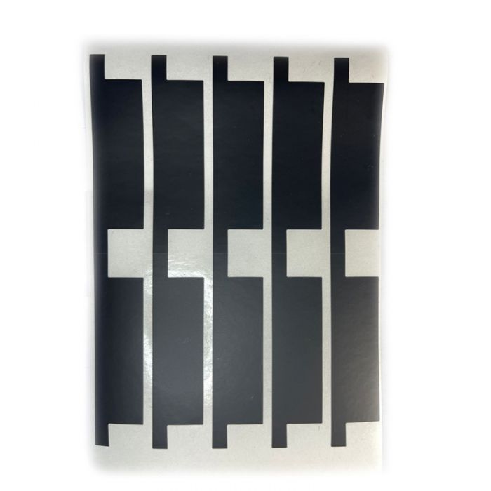 (100PCS / Pack) Black battery isolation tape insulating tape for iPhone battery