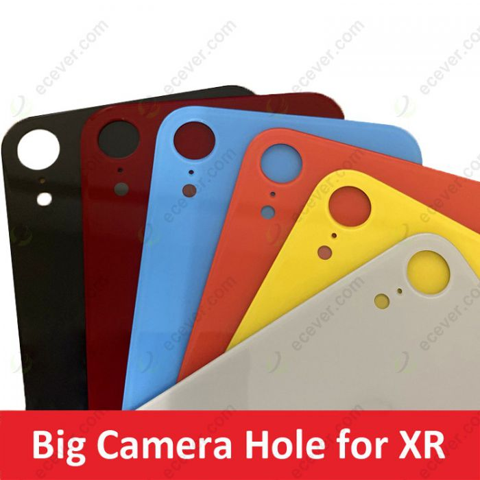 Big hole Camera Lens back glass cover for iPhone XR Repair Replacement