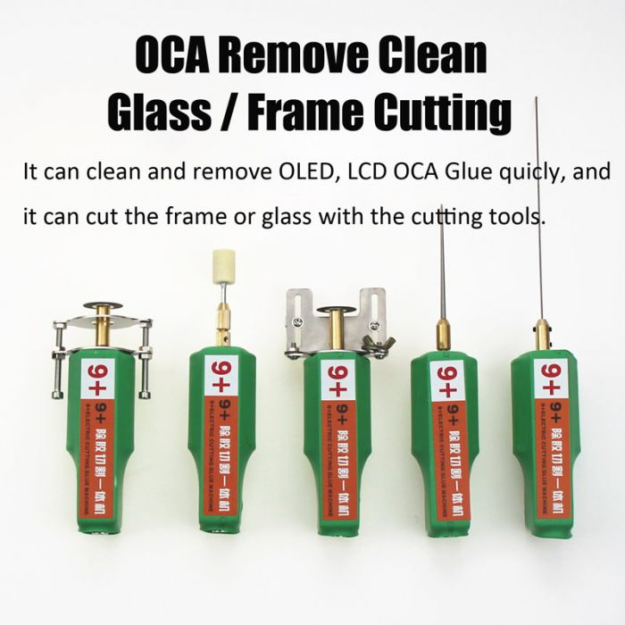 9+ OCA Glue Remove Cleaning Tool Electric Tool for iphone for samsung LCD OLED OCA Removing