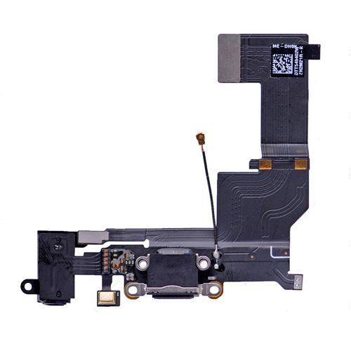 OEM iPhone SE Dock Connector Charging Port Flex Cable Black