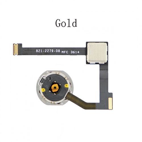 Home Keyboard Assembly for iPad Air 2 Gold