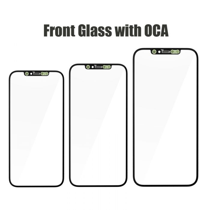 High Quality Front Glass Lens with OCA for iPhone 12 mini 12 Pro max