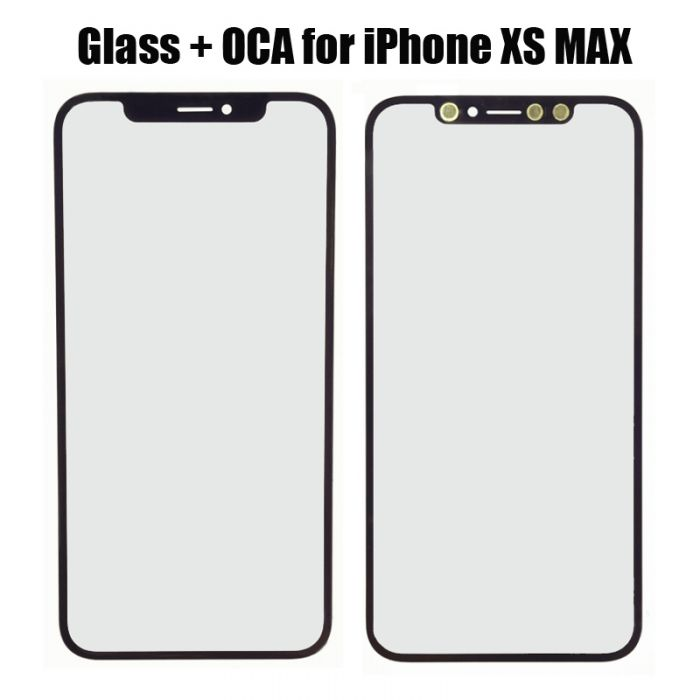 Front Glass with OCA Glue for iPhone XS MAX