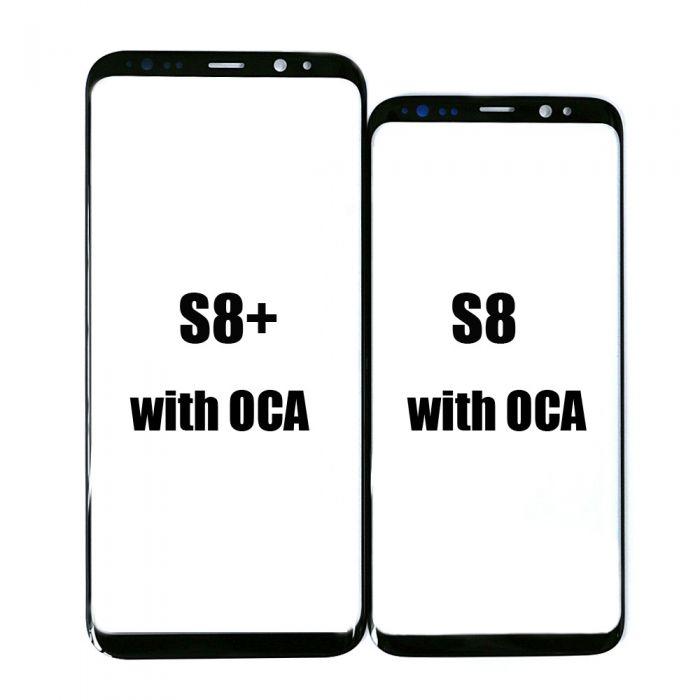 Glass with T OCA for samsung galaxy S8 S8+ Plus OLED Repair refurbish