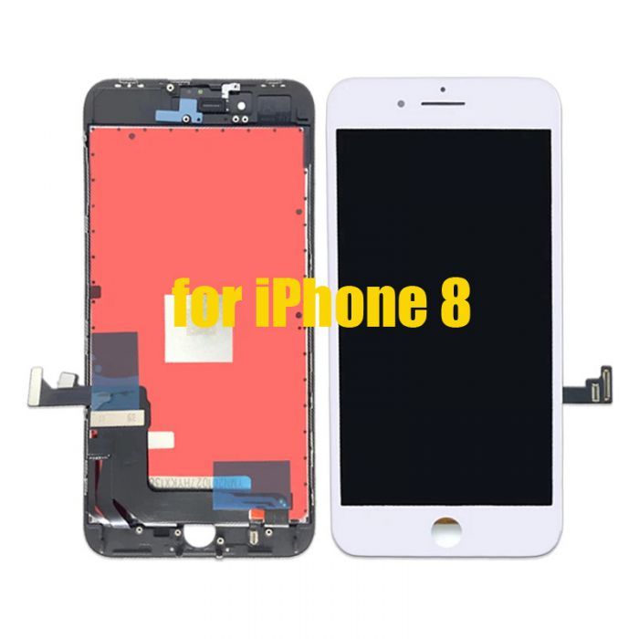 Aftermarket LCD Screen Digitizer Assembly for iPhone 8 White
