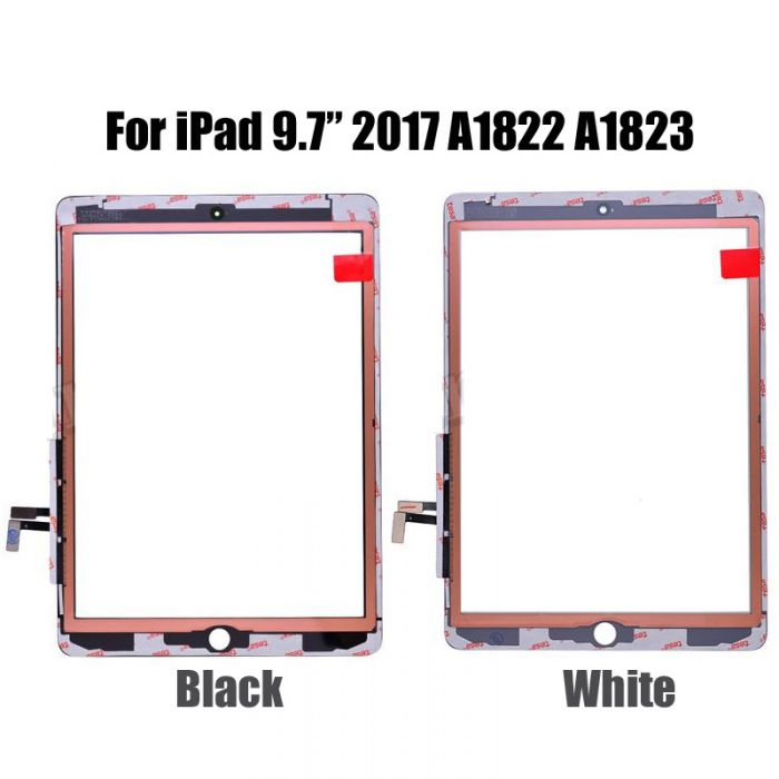 OEM Touch Screen Digitizer for iPad 2017 A1822 A1823 with TESA Tape Sticker
